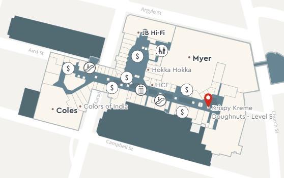 accountants parramatta westfield map